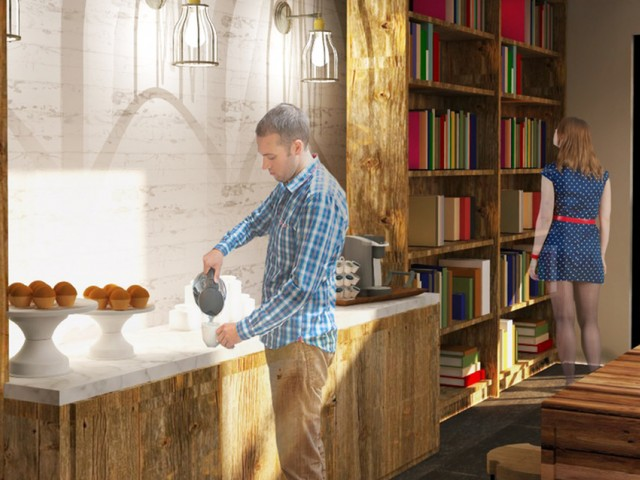 Image of 24-Hour Resident Clubhouse & Wi-Fi Cafe for District at Duluth