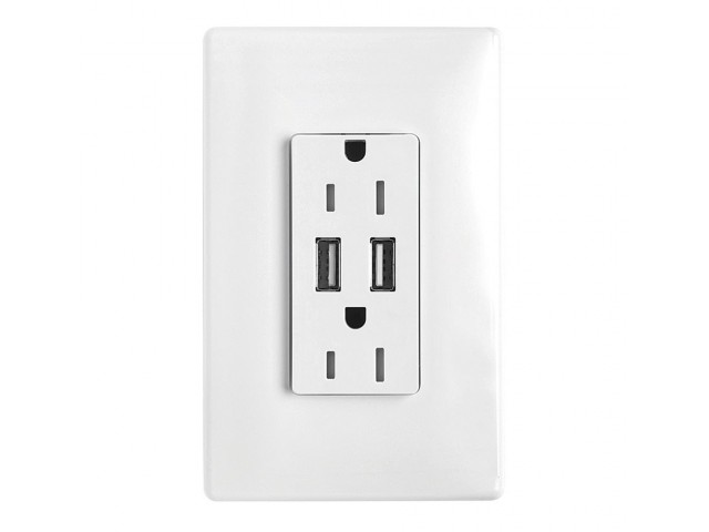 Image of In Wall USB Charging Ports for District at Duluth