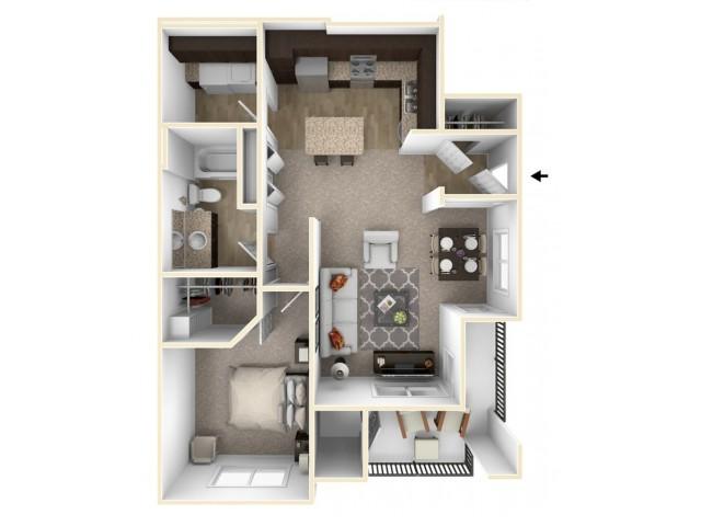 One Bedroom - Osprey