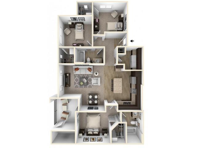 3 Bedroom - Osprey