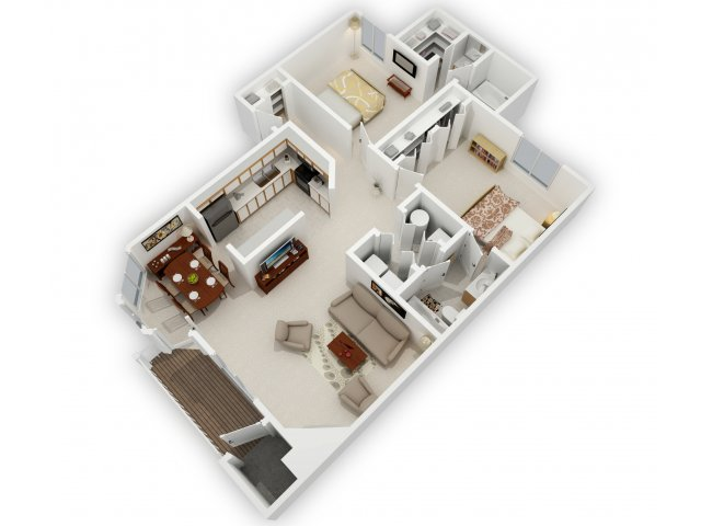 0 For The 2 Bedroom Bathroom Side By Floor Plan