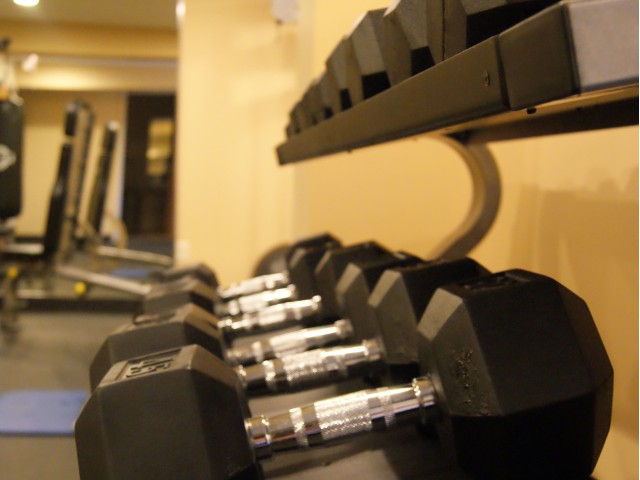 Image of Fitness centers in each building for Westwind Apts