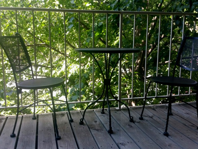 Image of Private balcony for Westwind Apts