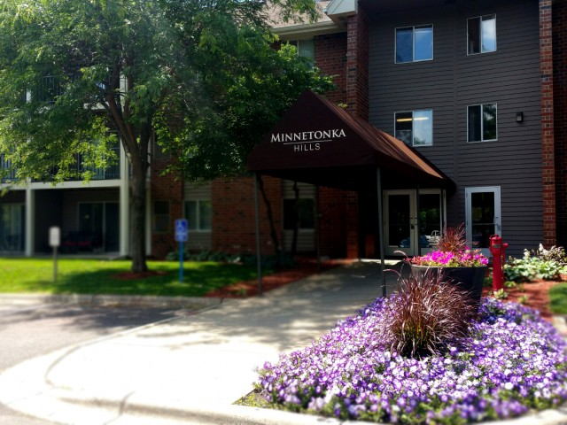 Image of Controlled building access for Minnetonka Hills Apts