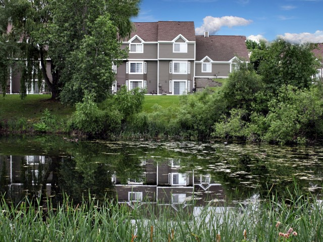 Image of Pond or Wooded Views for Bass Lake Hills Townhomes