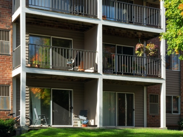 Image of Large patio or deck for Minnetonka Hills Apts