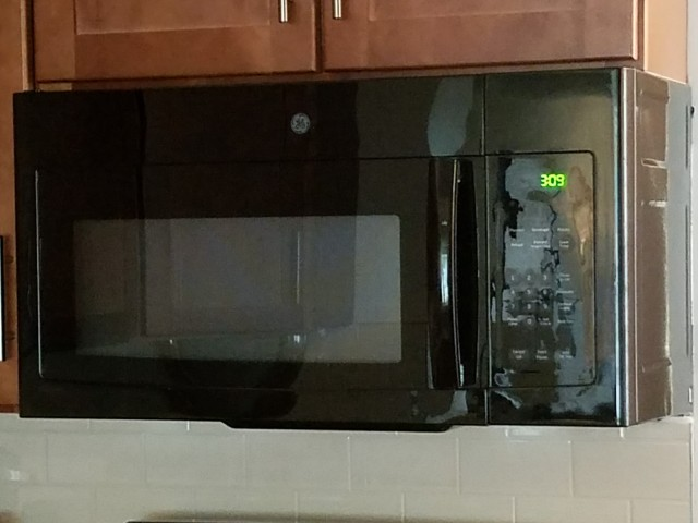 Image of Built-in microwave for Westwind Apts