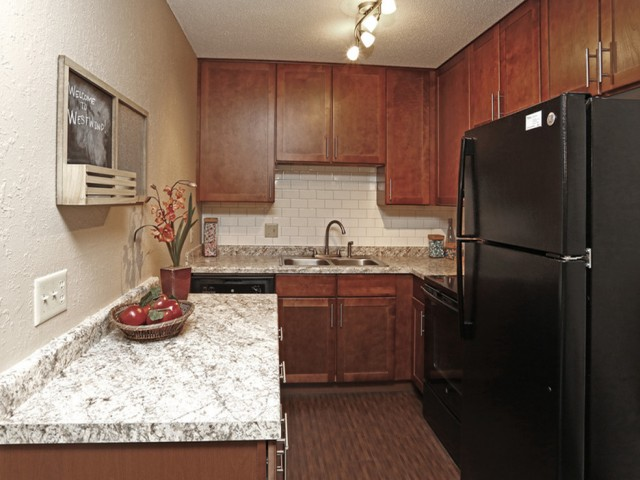 Image of Remodeled Kitchen for Westwind Apts