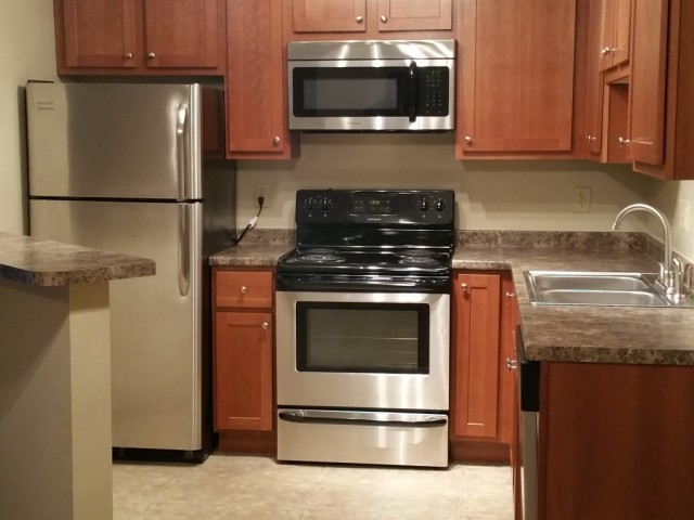 Image of Stainless steel appliance upgrade for Westwind Apts