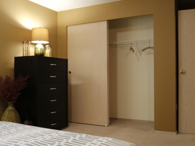 Image of Ample closet and storage space for Rivergreens Apartments