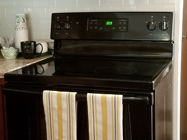 Image of Electric range for Rivergreens Apartments