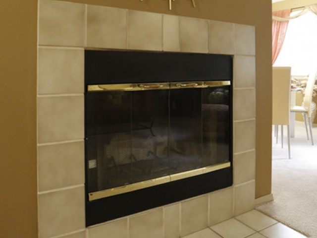 Image of Wood-burning Fireplace for Rivergreens Apartments