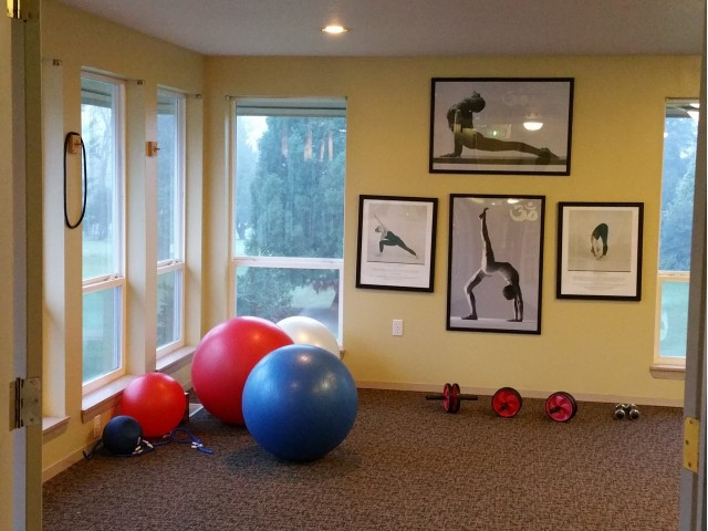 Image of Yoga and pilates room for Rivergreens Apartments
