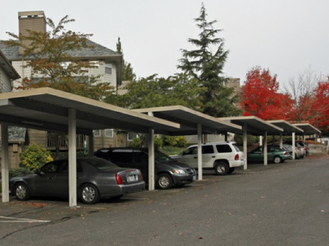 Image of Covered carport parking included for Rivergreens Apartments