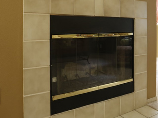 Image of Fireplace for Creekside Apartments