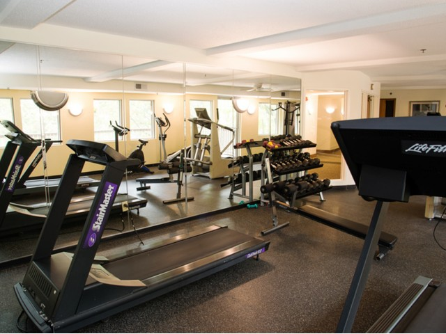 Image of Fitness centers in each building for Minnetonka Hills Apts
