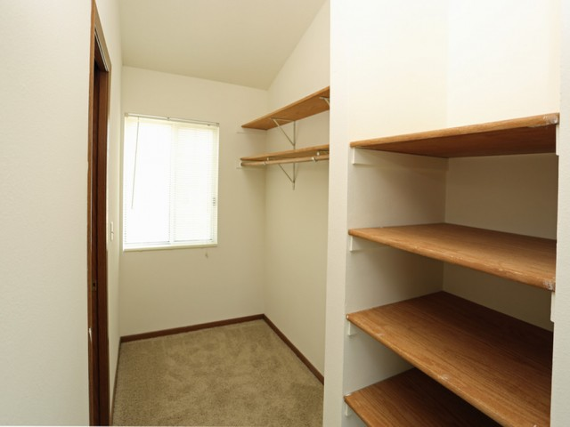 Generous Closet And Storage Space