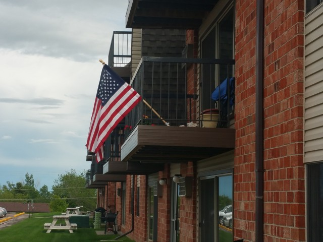 Image of Patio or Balcony for Candlewood Apartments