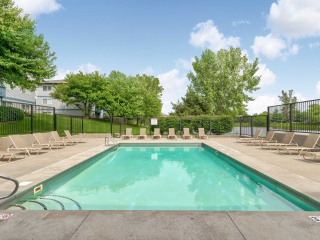 Image of Outdoor, heated swimming pool with sundeck for The Fountains Apartments