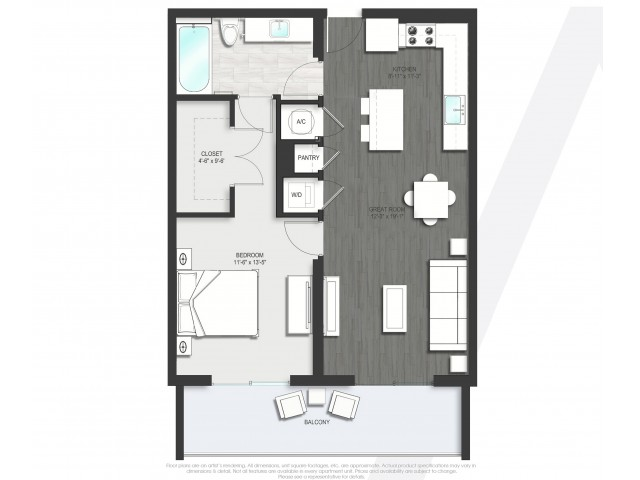Floor Plan 5 | Apartments In Boca Raton | Allure Boca Raton