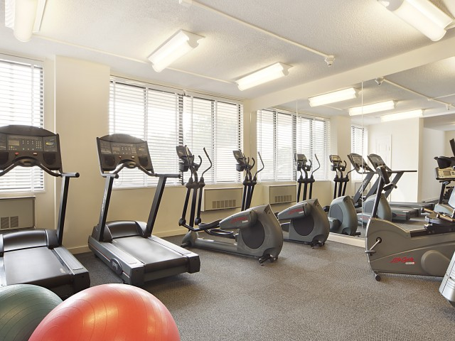 Cutting Edge Fitness Center | Somerset NJ Luxury Apartments | The Harrison