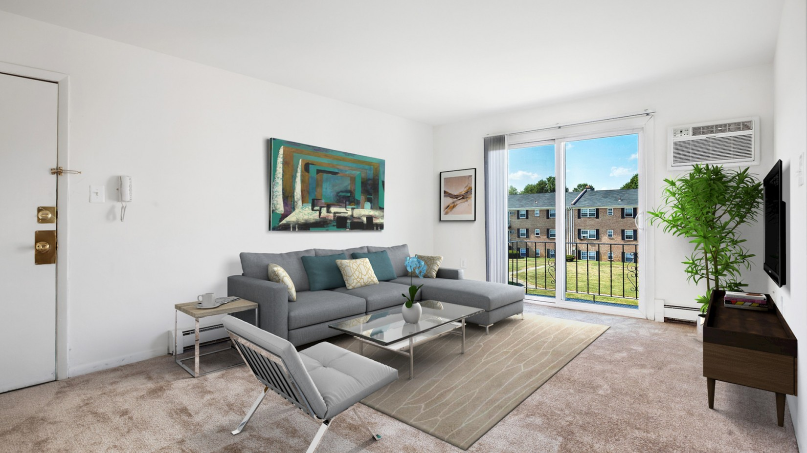 Spacious Living Area | Apartments In Newark | Liberty Square