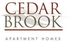 Cedar Brook Logo | Pine Hill NJ Apartments | Cedar Brook