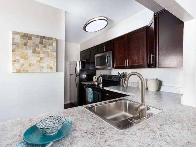 Newly Renovated Kitchen | Luxury Apartments For Rent In Harrisburg PA | Mulberry Station