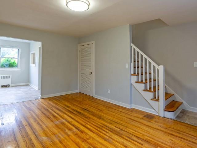 Image of Hardwood flooring in some homes for The Woodlands at Belleville
