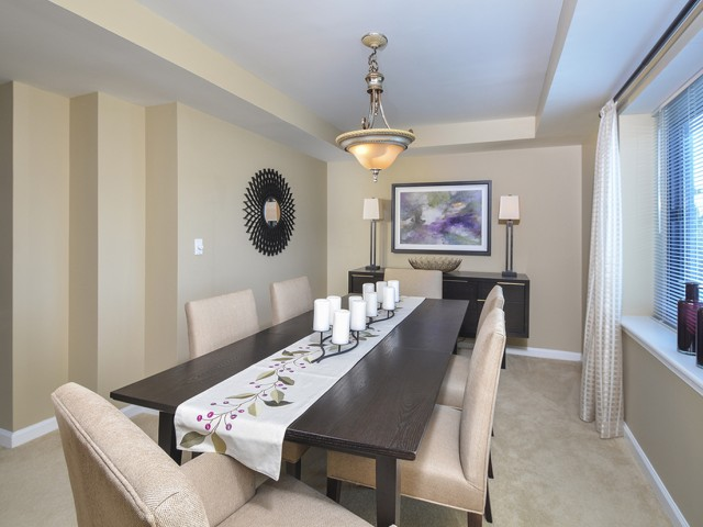 Luxurious Dining Room | Cherry Hill Apartments | Cherry Hill Towers