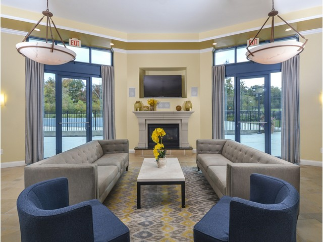 Elegant Community Club House | Cherry Hill Apartments | Cherry Hill Towers