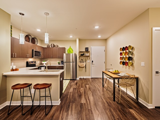 Elegant Kitchen apartment in North Hills Pittsburgh