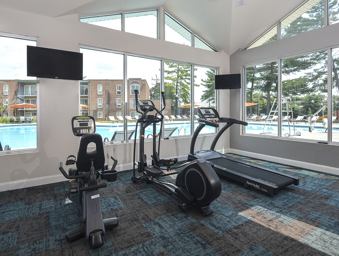 State-of-the-Art Fitness Center | Baltimore MD Apartments | Metro Pointe