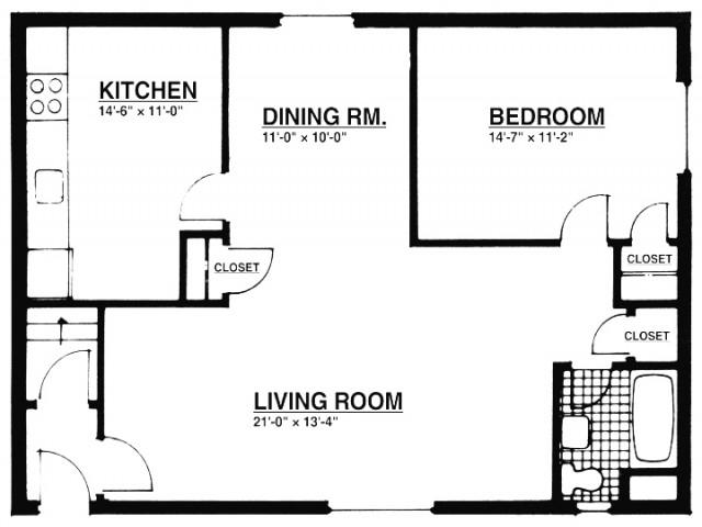1 Bedroom Apartments | Summit, NJ