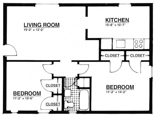2 Bedroom Apartments | Summit, NJ