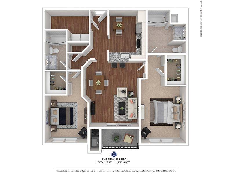 2 Bedroom 2 Bath Apartment | Blackwood, NJ