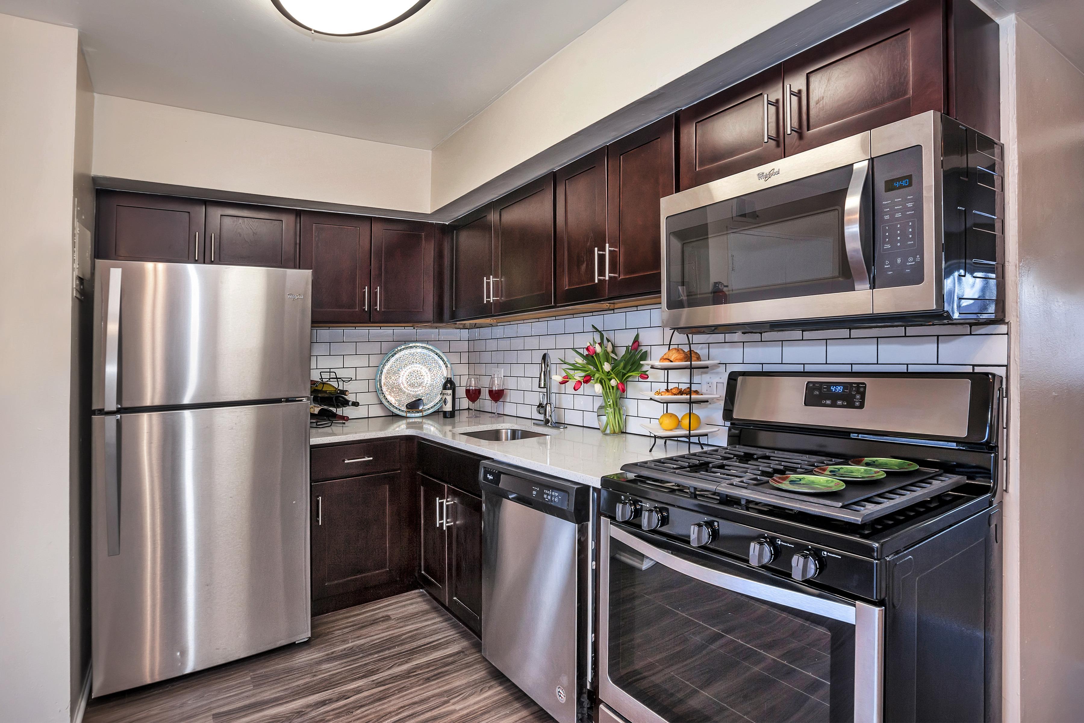 Spacious Kitchen | Bensalem Apartments | Franklin Commons