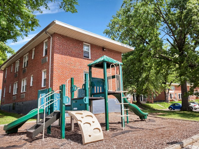 Community Children\'s Playground | Baltimore Maryland Apartments for Rent | Greens at Forest Park