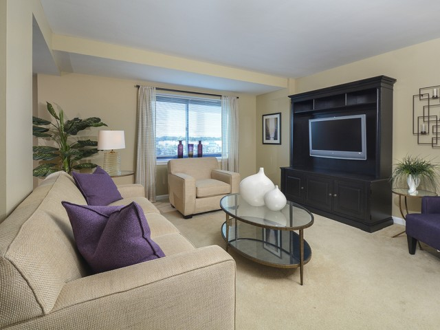 Elegant Living Room | Apartments In Cherry Hill NJ | Cherry Hill Towers