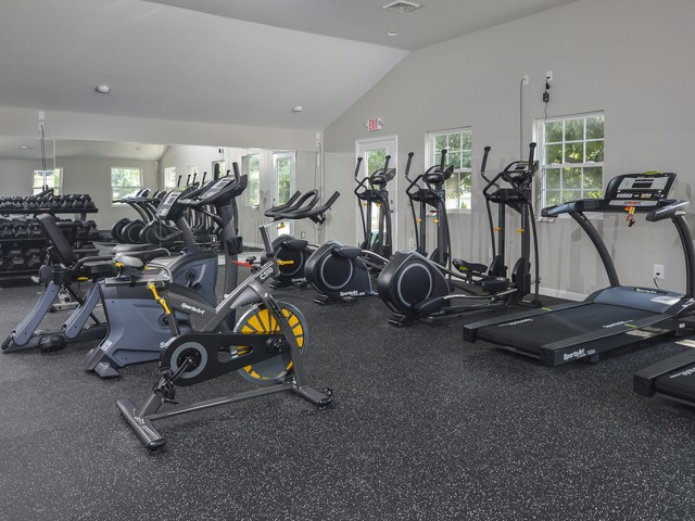 State-of-the-Art Fitness Center | Bethlehem PA Apartments | River Pointe