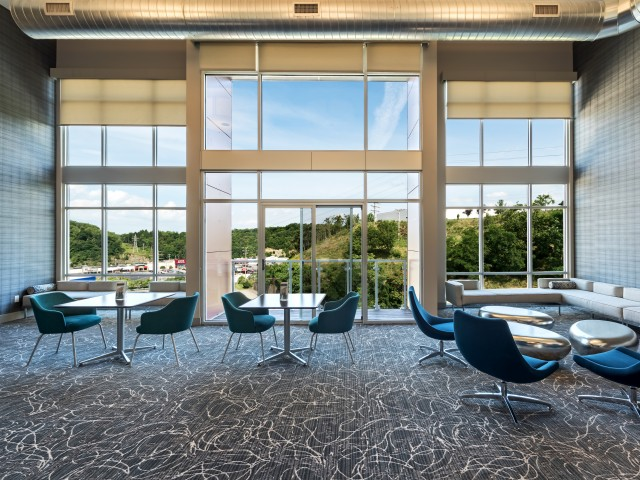 Spacious Resident Club House at Cosmopolitan in North Hills Pittsburgh
