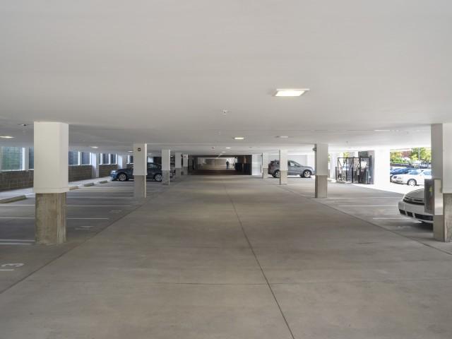 Community Parking Garage North Hills Pittsburgh Apartments at Cosmopolitan