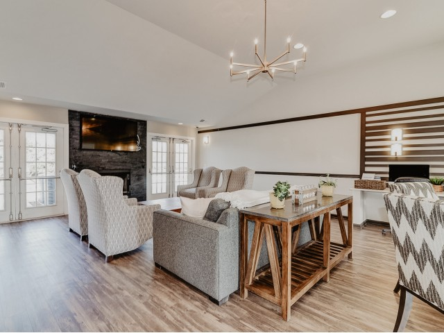 Clubhouse Community Room | Apartments Elkton MD | Stonegate at Iron Ridge