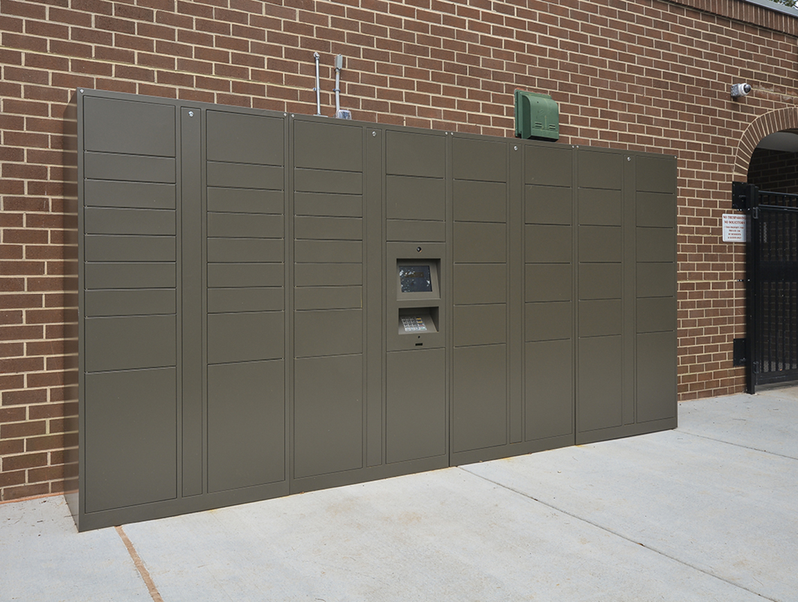 Amazon Hub Lockers| Baltimore MD Apartments | Metro Pointe Apartment Homes