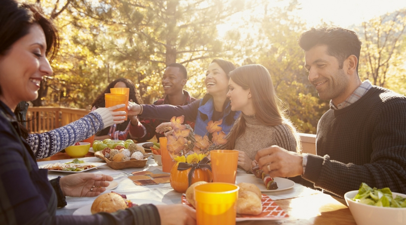 Throw an Autumn Get-Together at Your Greens at Forest Park Apartment