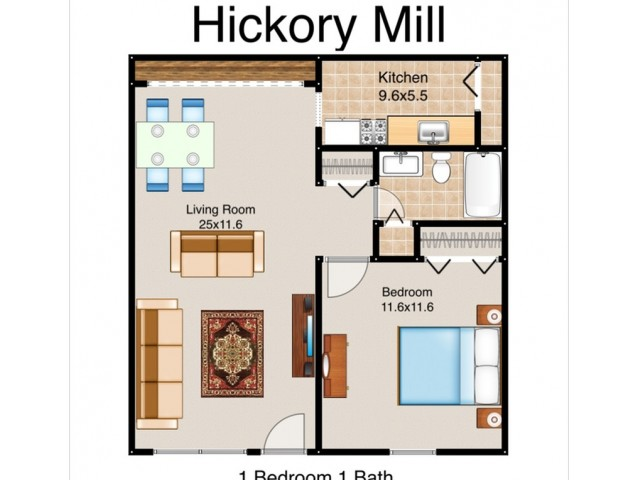 Hickory Mill Apartments