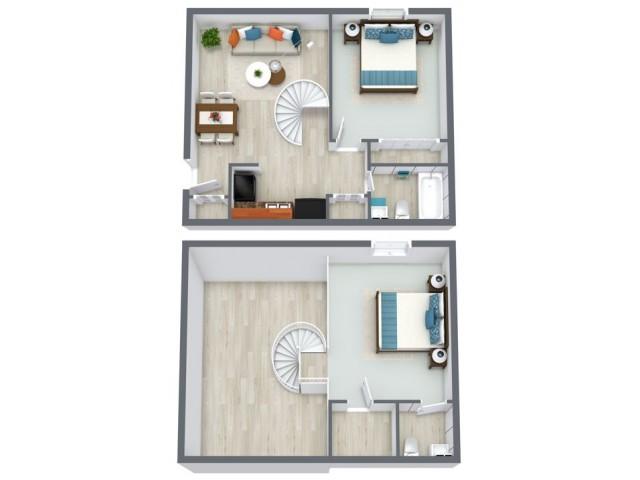 Cedar floorplan