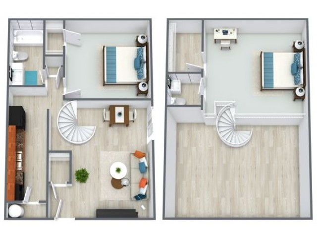 Oak floorplan