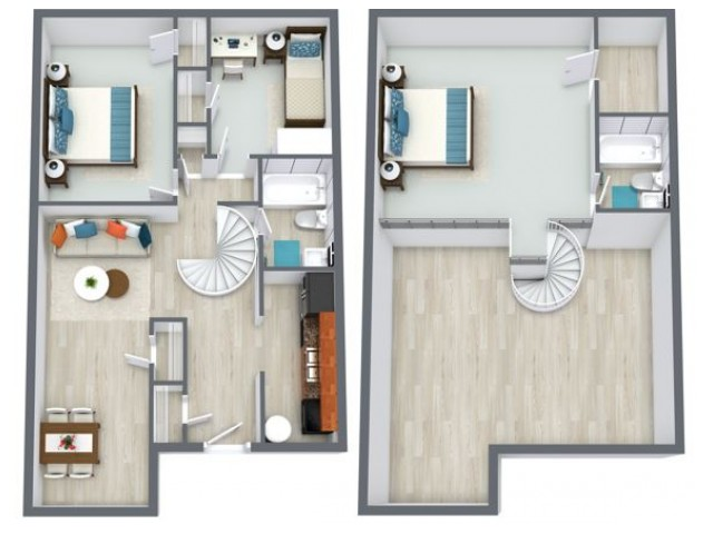 Redwood floorplan