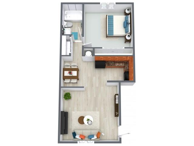 Angeles Floorplan